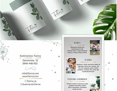 Flower shop Branding