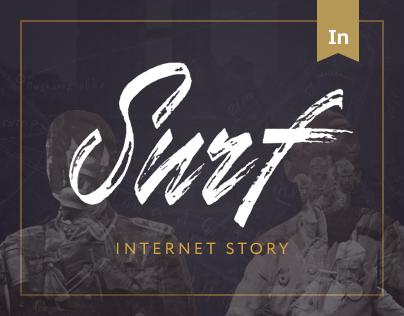 "Internet story ""Surf"""