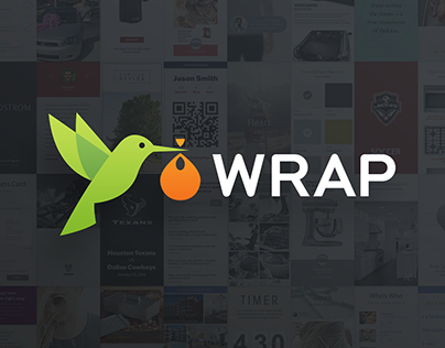 Wrap: Mobile Card-Based Storytelling Platform.