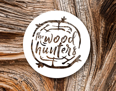 """Branding for company """"thewoodhunters"""""""