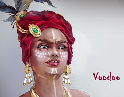 Character concept / New Orleans Vodoo witch