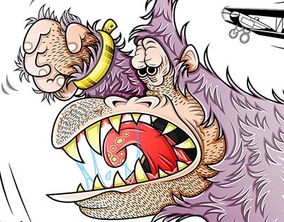 King Kong Character Design Sheet