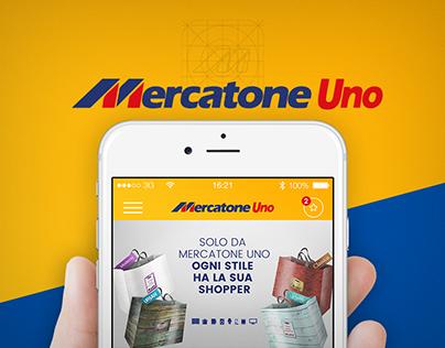 Mercatone Uno - Mobile APP UI/UX Redesign