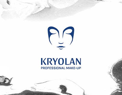 KRYOLAN brand identity and packaging design