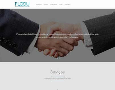 site institucional para FLOOU