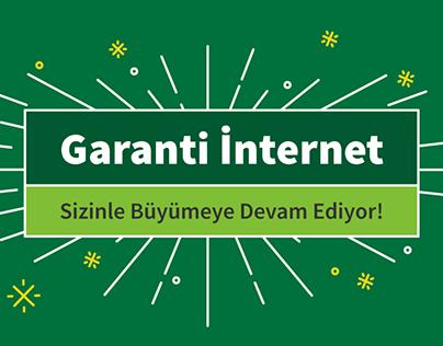 Garanti Bank Internet -Infographic Design