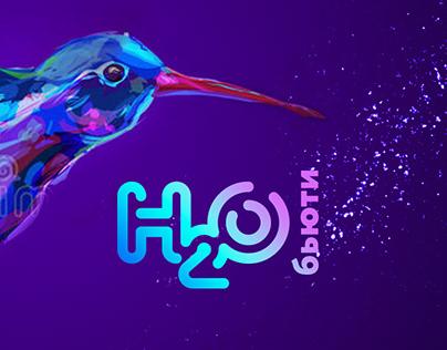 H2O Beauty concept
