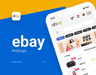 eBay App Redesign