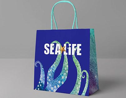 sea life bag design