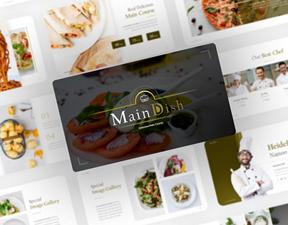 Free Food & Restaurant PowerPoint Presentation Template