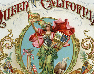 Queen of California Artwork
