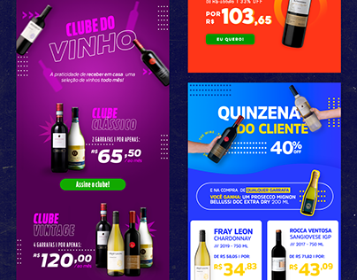 newsletter . 3 /// e-commerce de vinhos