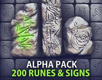 VOL. 2 - 200 Runes, Signs & Symbols