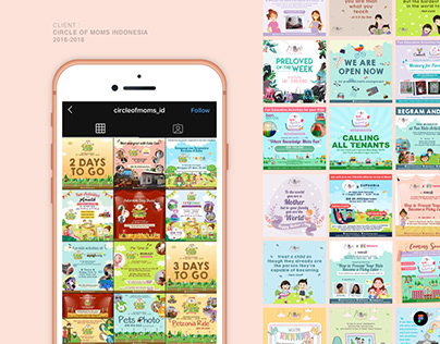 Circle of Moms Indonesia Instagram Feed