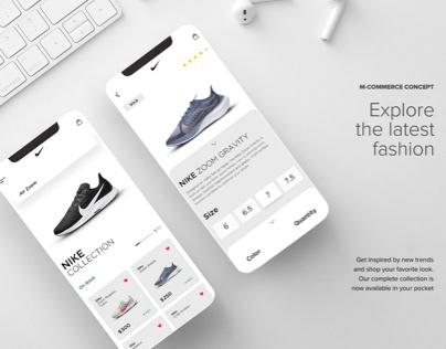 RE BRANDING (Nike Mobiel Shopping App)