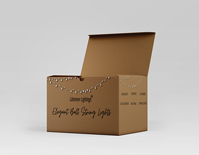 String Lights Minimalistic Packaging