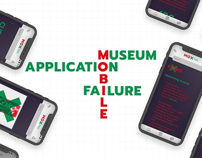 Application mobile Museum of Failure