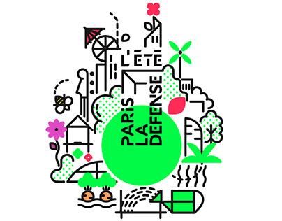L'Été Paris la défense 2018