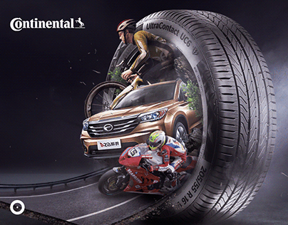 Continental tires | Creative Direction