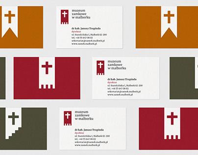 Identyfikacja wizualna dla Muzeum Zamkowego w Malborku