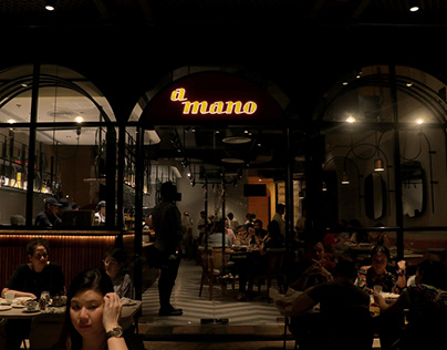 a mano at Rockwell