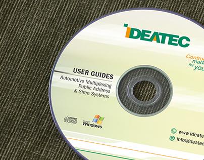IDEATEC   Splash screen, CD & newsletter
