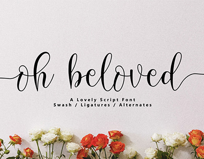 Free Oh Beloved Lovely Script Font
