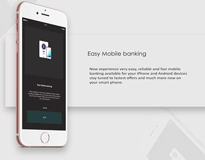 Application User Interface ( Banking )