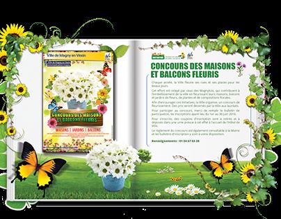 Visuel concours des maisons et balcons fleuris