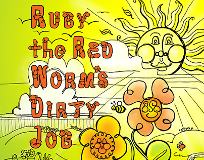 Ruby the Red Worm