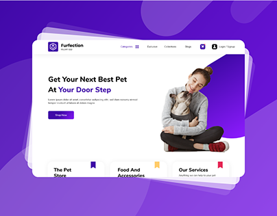 Ecommerce Website for Pets
