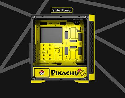 Pikachu themed Custom Case Design for CustomKid