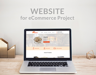 Website Design for eCommerse Project