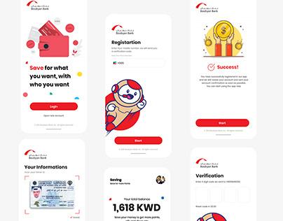 Boubyan Bank - Mobile App for kids