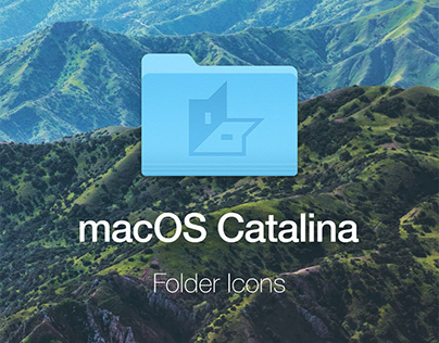 macOS Catalina Folder Icons