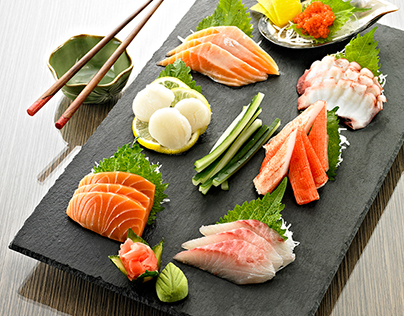 Sushi Nobu - Food Photography & Editorial Design