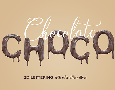 3D Text Template Fonts