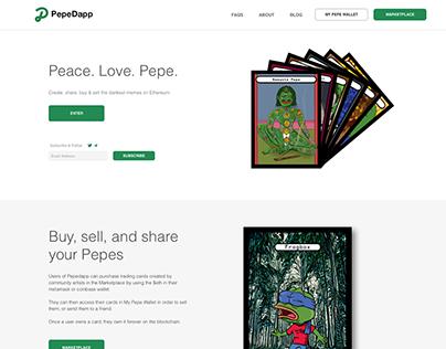 Pepedapp Identity & Product Design