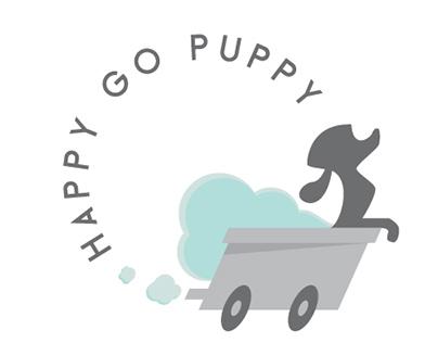 Happy Go Puppy Logo and Website