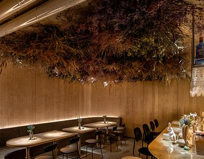 Rabbit Habit bar in Kyiv, Ukraine by YOD Design Lab