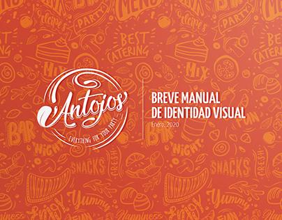 Identidad Visual: Antojos (2020)