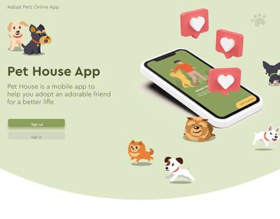 Pet House App