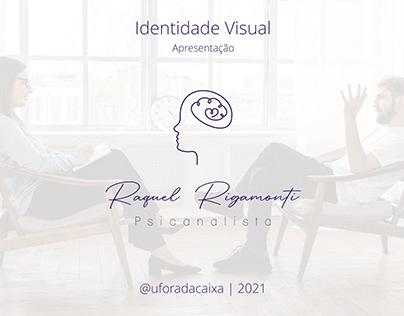 Identidade visual - Raquel Rigamonti