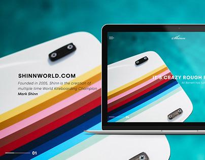 Shinn world web design