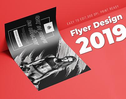 Gym Flyer Design