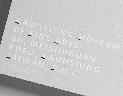 KMFA BRAND REDESIGN 高雄市立美術館品牌設計