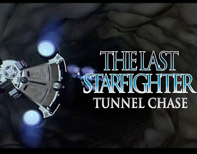 The Last Starfighter Tunnel Chase Board Game