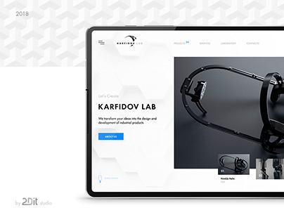 Industrial Design Company | Website Redesign Concept