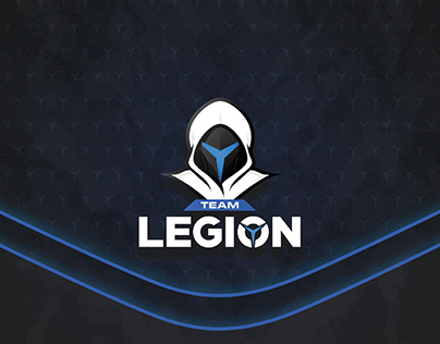 Team Legion - Lenovo Legion's Stream Team Branding
