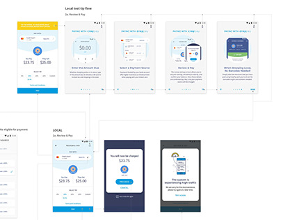 UI Payment App Flow